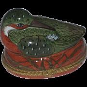 Vintage Tiffany & Co Limoges France Bird Trinket Box Hinged