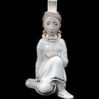 Royal Copenhagen Arno Malinowski Seated Woman Figurine