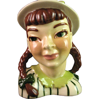 "Head Vase ""Becky"" by Ceramic Arts Studio, Madison, WI"