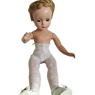 Maggie Face / M. Alexander Hard Plastic- (Moveable legs and arms) Doll