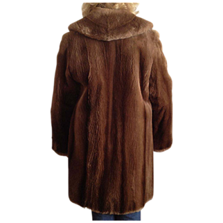 REDUCED Seal Fur Coat