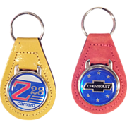Set of 2 Classic Chevy Key Chains