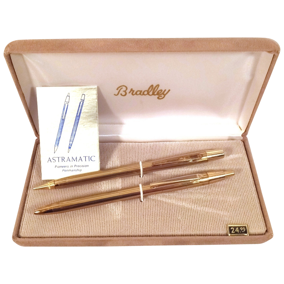 Bradley Astramatic Pen and Pencil Set