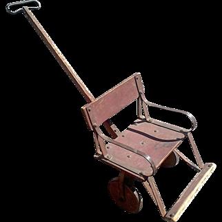 Antique Childs Stroller Buggy Cart