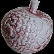 Vintage Arabia Made  in Finland Decorative Ceramic Apple