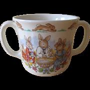 Royal Doulton Bunnykins Christening Two Handled Mug