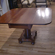 turn of the century American empire square table