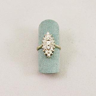 SALE Vintage Ladies Diamond Ring