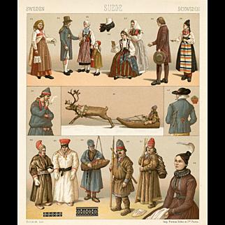 Swedish Fashion Print (1888)