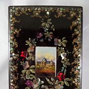 Papier Mache blotter 1862 International Exhibition South Kensington London