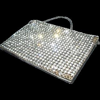 Stunning 1920s Rhinestone Cocktail Handbag