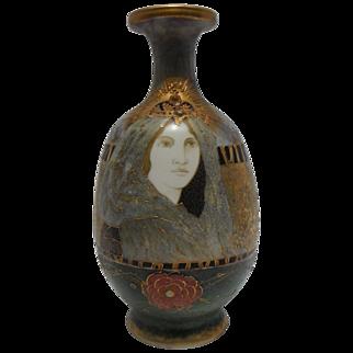 RStK Riessner, Stellmacher and Kessel  Amphora Art Nouveau - Fairy Princess - Vase