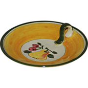 Della Ware Stangl Pottery Festival Lemon Server Bowl