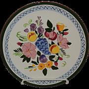 Stangl Pottery Dinner Plate Fruit & Flower
