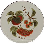 Stangl Pottery Dinner Plate Orchard Song