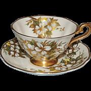 Royal Albert Bone China Tea Cup & Saucer Dogwood Blossom