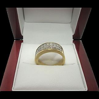 SALE Stunning 18k gold 2.00 cttw Diamond Ring