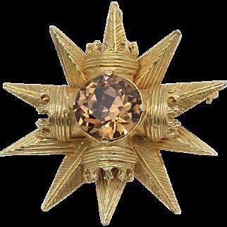 Maltese Brooch Pendant