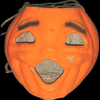 SALE Halloween Jack o Lantern Pumpkin Paper Pulp
