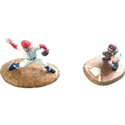 "Dept. 56 Baseball Accessory ""Warming Up"" Christmas in the City #56.59425 T4 Figurines  The ..."