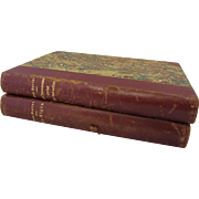 2 French Books circa 1930 by Jean Martet