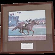 Secretariat Winning the Kentucky Derby-1973