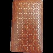 1955 Vintage French Missel Leather Religious Prayer Book Missel Vesperal Dominical / Prayer Mi