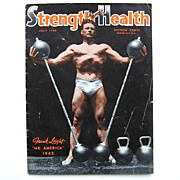 Muscle Magazine Strength & Health 1942 Mr. America Frank Leight