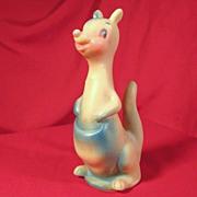 Vintage Rubber Kangaroo Squeak Toy