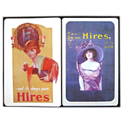 2 Decks Hires Root Beer Playing Cards by Liberty in Box