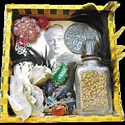 Folk Art Colombo Cigar Box Rudolph Valentino Shrine