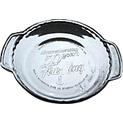 Anchor Hocking Fire-King 50th Anniversary Pie Plate 1992
