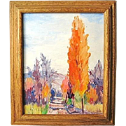 Original Landscape Oil Painting by Washington State Artist Patrick Fleming