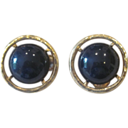 LES BERNARD- Large Runway Vintage Earrings
