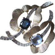 JOMAZ- Outstanding Vintage Signed Brooch