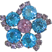 K.J.L. 1960's early Brooch