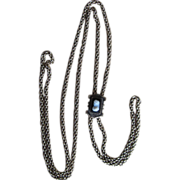 Outstanding Victorian Watch Chain and Slide