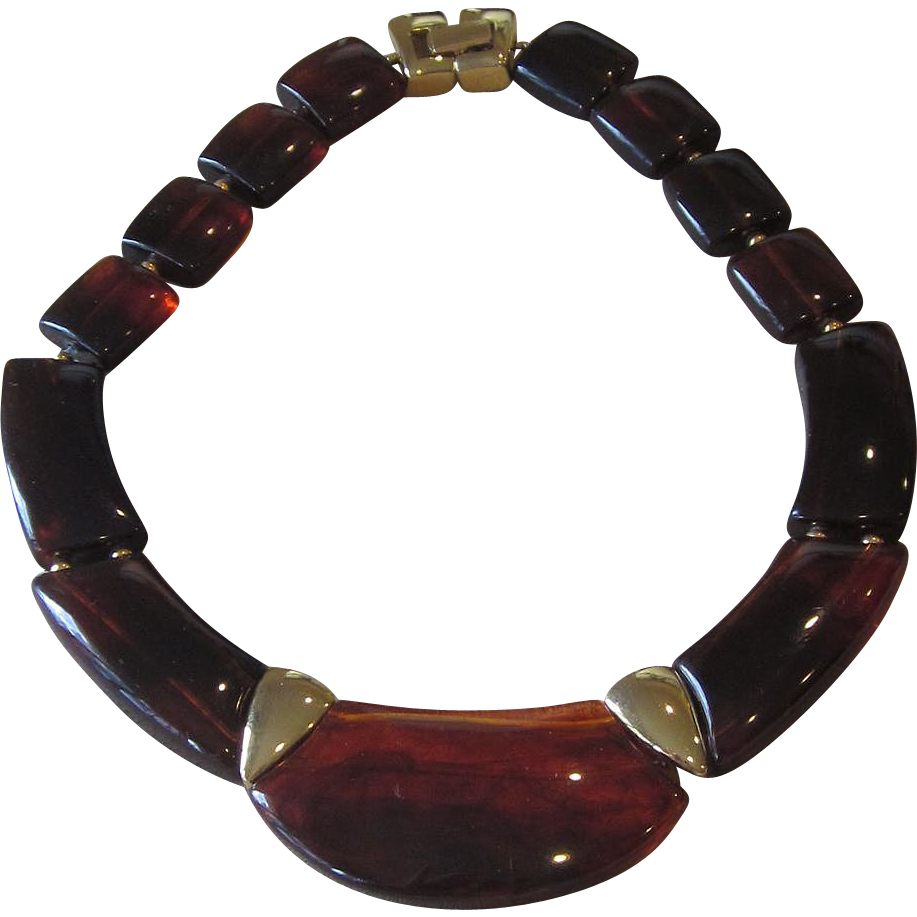 Napier- Couture Style Runway Necklace