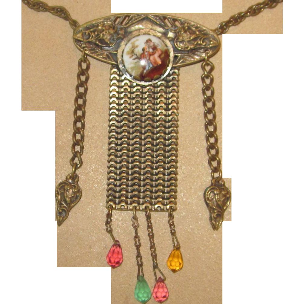 Pomerantz- Rare Signed Vintage Necklace