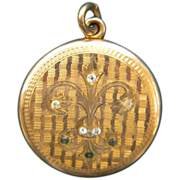 Large Victorian Gold filled Locket