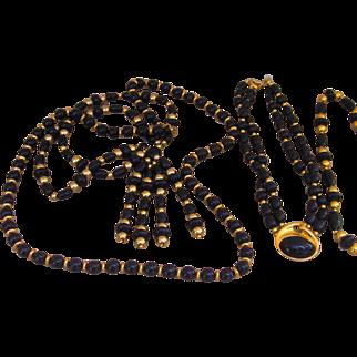Trifari 4 Necklaces Vintage Old Stock
