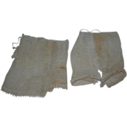 A set of Original Petticoat and Bloomers.