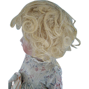 There was a Little Girl That had a Little Curl-10'' Mohair Wig