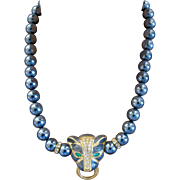 KJL for Avon Panther Necklace