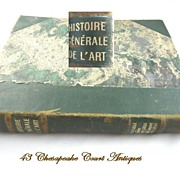 Histoire Generale de l'Art~French Art Book