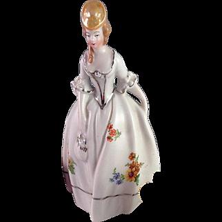 Lovely Vintage Porcelain Maiden