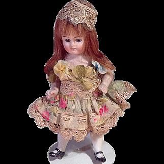 SALE Sweet Kestner Dollhouse Girl