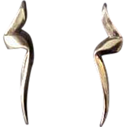 18K Yellow Gold  Vintage Paloma Picasso Earrings for Tiffany