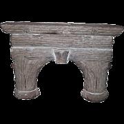 Limestone Fireplace Mantle