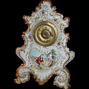 Huge Circa 1880 Antique French Limoges Porcelain Clock